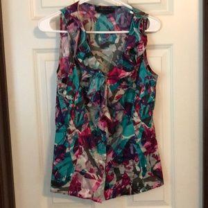Ann Klein size M multicolor top.